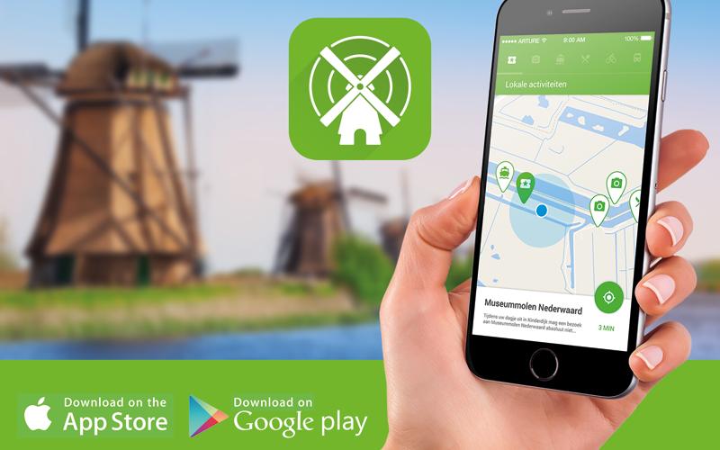 Toeristische Kinderdijk app